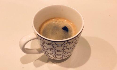 クレマ付きの美味しいコーヒー
