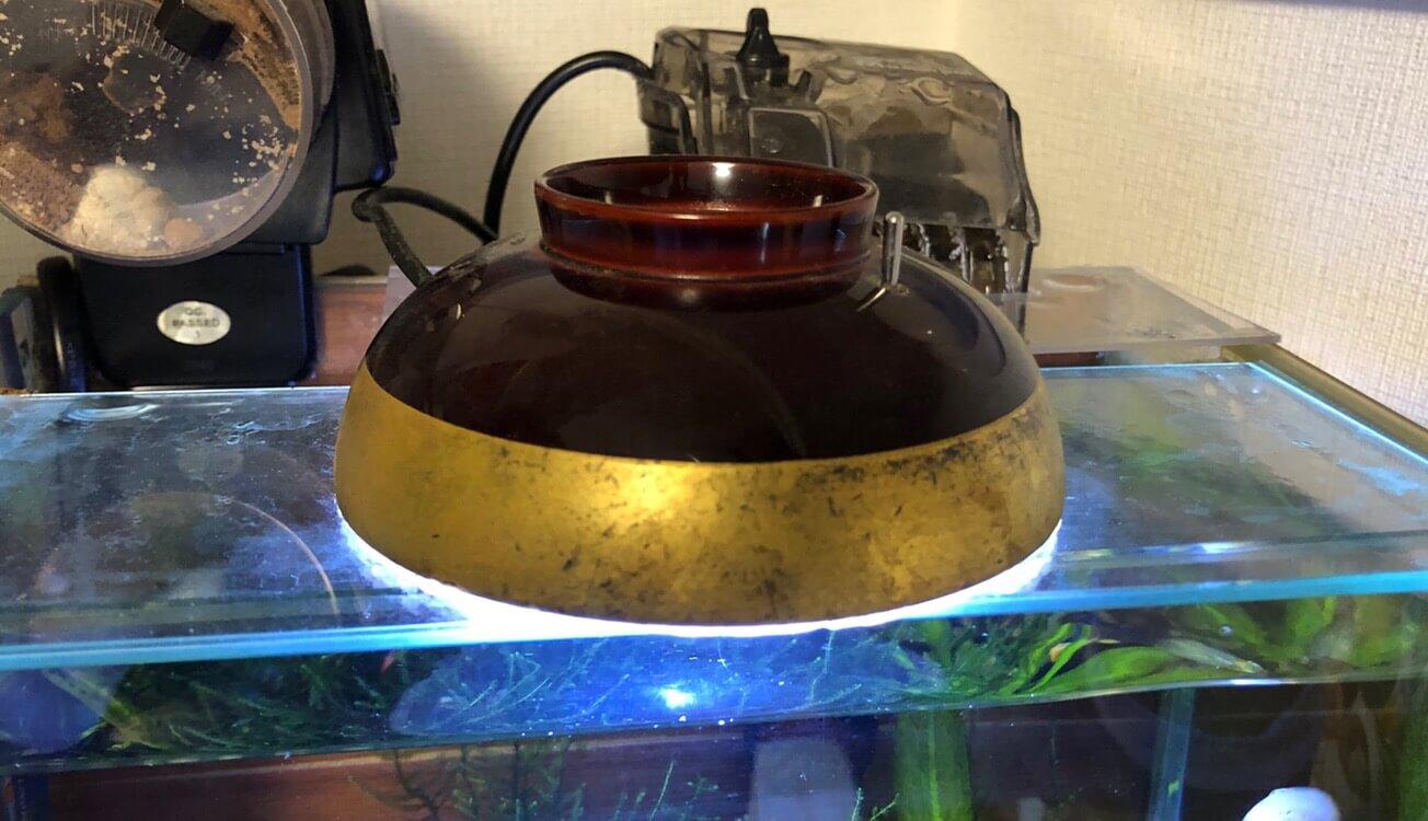 水槽用の自作LEDライト