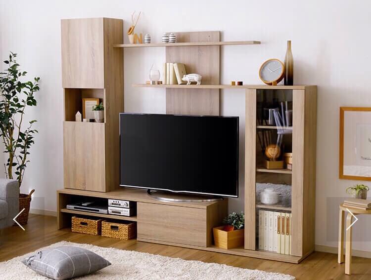 収納付きテレビボード・組み立て家具・デザインインテリア