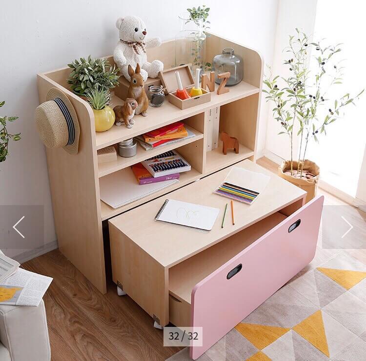 ロウヤの収納型学習机