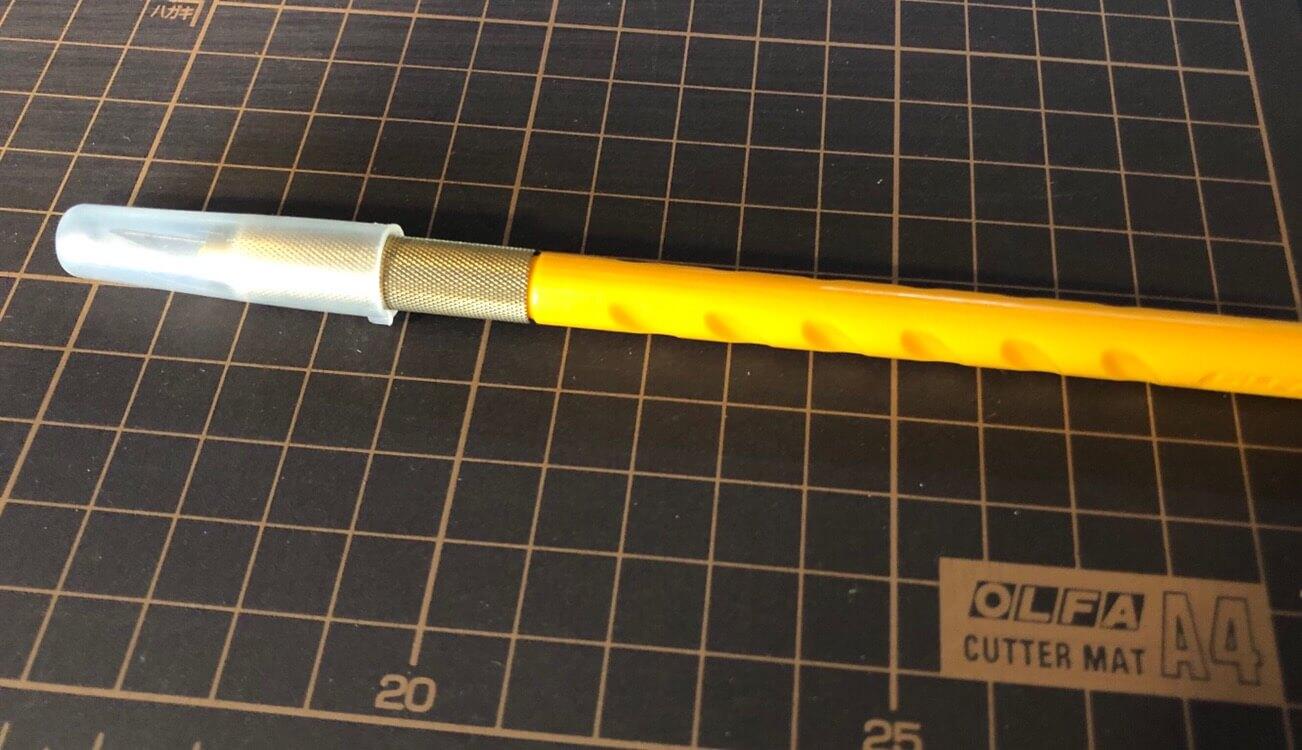 OLFAのナイフと下敷きは優秀
