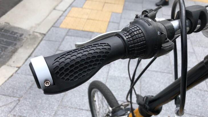 自転車のグリップ交換!長さが違うのでちょっと切る加工をしましたよ。