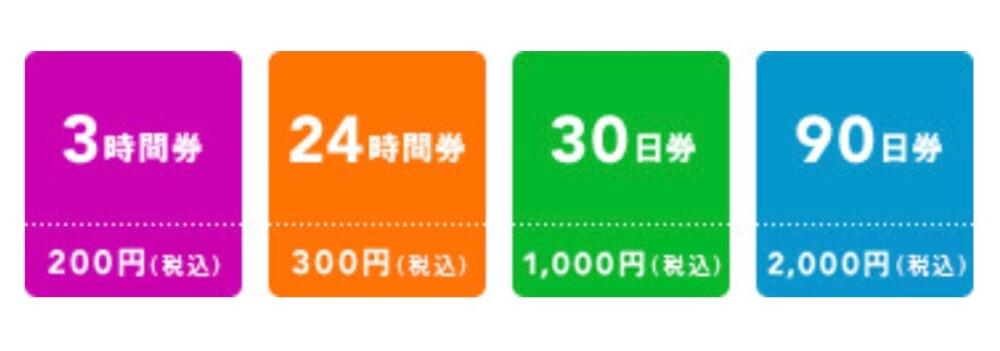 Wii Uカラオケの料金体系