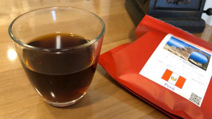 コーヒーミルを手に入れたので、ペルー産コーヒーを挽いてみたお話