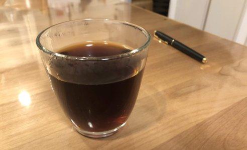 ボリビアのカルメロウィニング農園のコーヒーを飲む