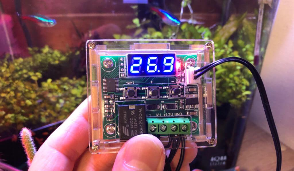 温度センサー付きサーモスイッチが無事起動