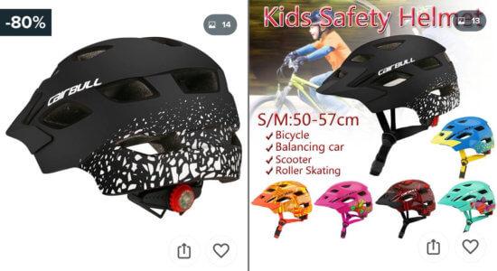 Cairbullのキッズヘルメット。子供用だけど意外とかっこいいデザイン。