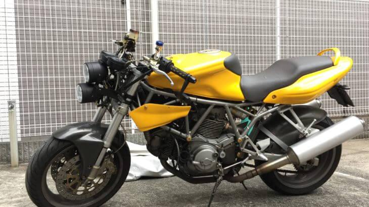 Ducati SS800i.eをストリートファイター化するお話①